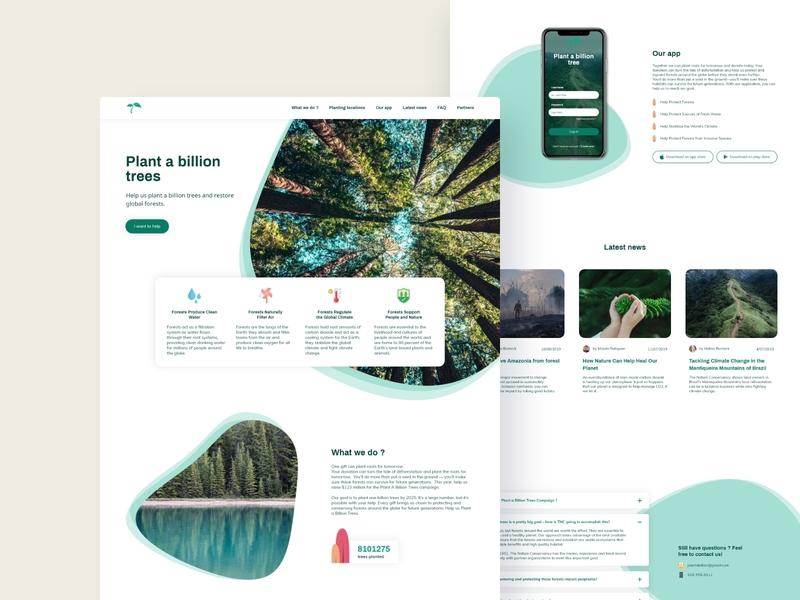 Plant a billion trees - desktop version