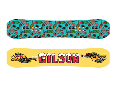Snowboard Designs for Gilson
