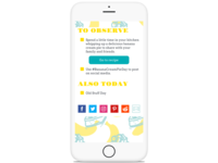 National Day Calendar- Responsive Concept App