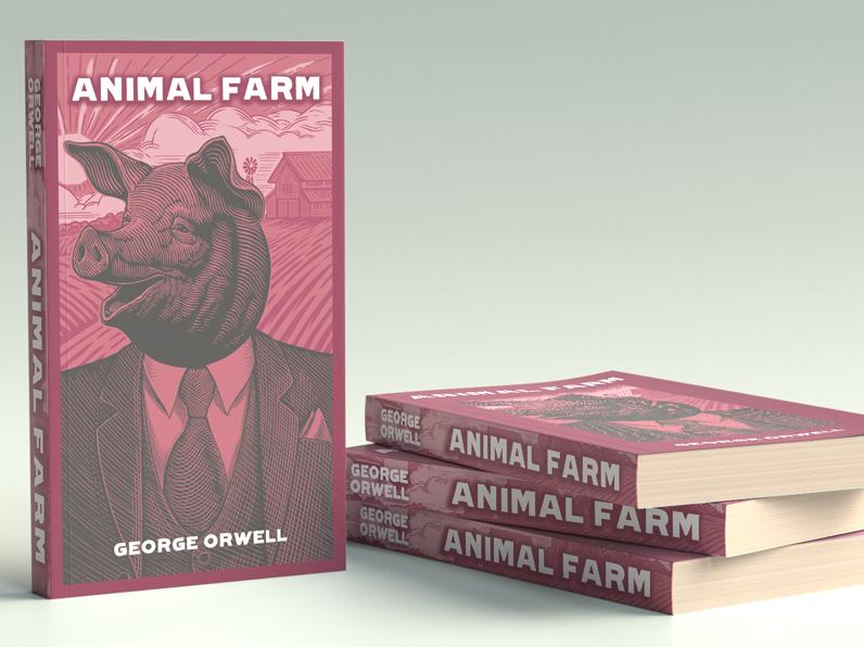 Animal Farm Book Cover Re Design By Hasan Tasdelen On Dribbble