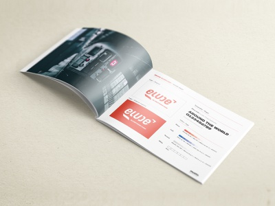 Elude typography guidelines logo branding
