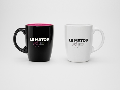 Le Matos fan art logo synthwave band music fanart