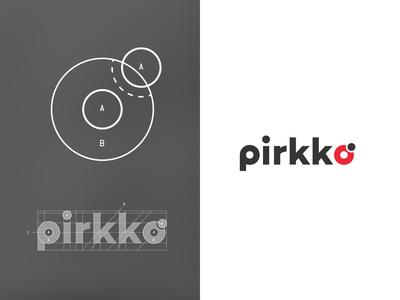 Pirkko° - A Ladybug inspired geometric logo