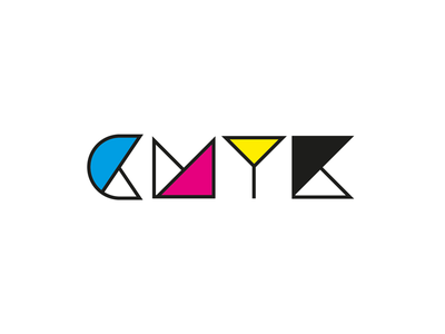 Definition of CMYK logo print colorsystem colors typography cmyk