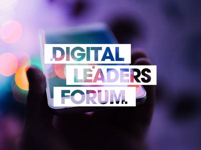 Logo design for Digital Leaders Forum logo design vector identity branding typography logo