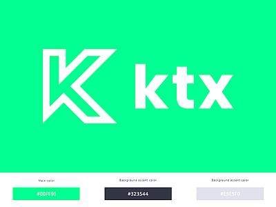 KTX Design logo vector brand logotype sygnet logo