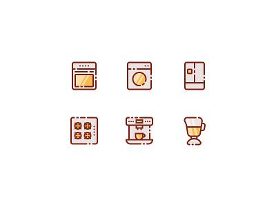 Household Appliances fridge robot coffee kitchen appliances household