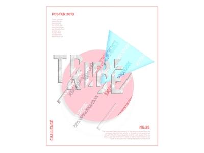 Tribe poster design