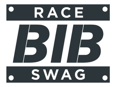 Race Bib Swag Logo logo simple race bib swag