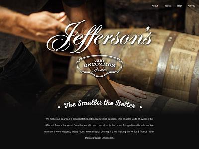 Bourbon Website authentic clean bourbon website