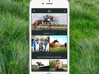 Equine Video Streaming App