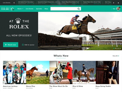 Equine Video Streaming Site streaming video equine