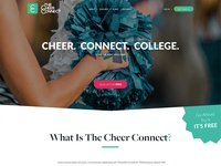 The Cheer Connect Website