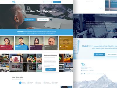 TalentCrank Website Design