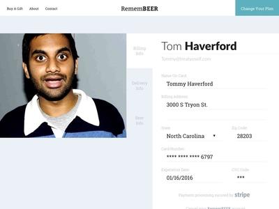 Customer Profile Concept