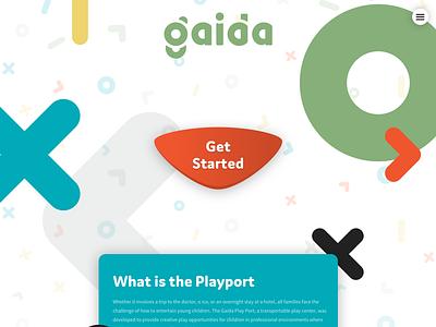 Gaida Website Design website