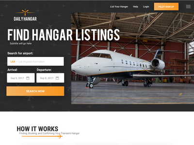Daily Hangar hangar plane airplane website