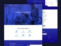 Skillrs - landing page