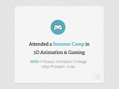Nirav goes to Summer Camp