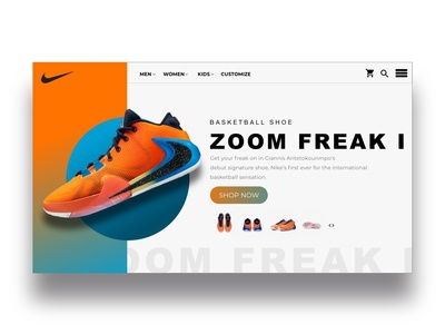 Nike Zoom Freak Landing