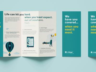 LifeExec Brochure Concept