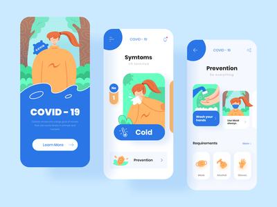 COVID19 Mobile App Exploration
