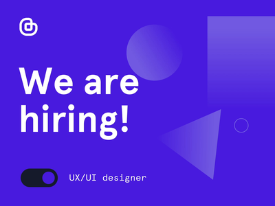 We're hiring 🚀 — UX/UI and Web designers design careers bemind after effect animation join us designer web ux italy milan job hiring agency