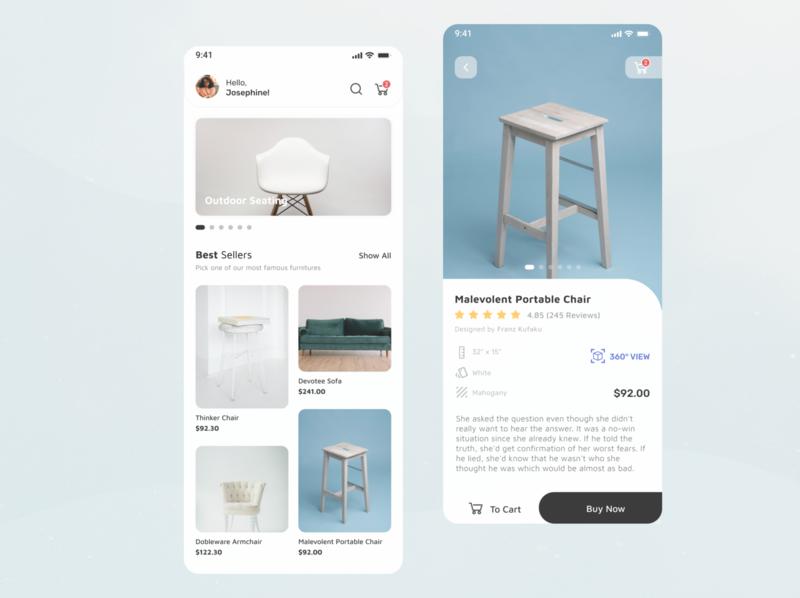 E-Commerce Exploration ecommerce design branding minimalist product page mobile product design prototype profile product