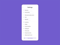 Daily UI #07 - Settings daily ui uxdesign sketch graphicdesign userinterface typography minimalistic settings dailyui ux daily dailyui007