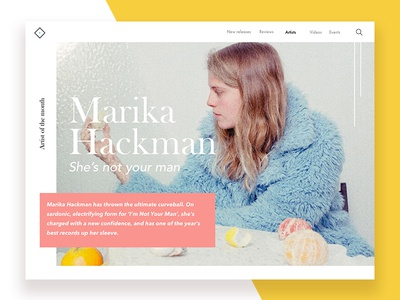 Artist Profile: Marika Hackman