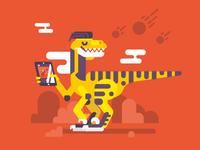 Velociraptor / Designostrataur