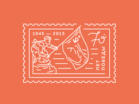 70 years of Victory / Postage Stamp