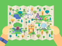 Disney World / Map