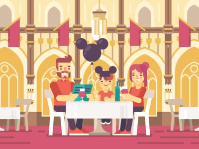 Disney World / Cinderella's Royal Table