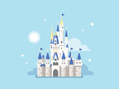 Disney World / Cinderella Castle