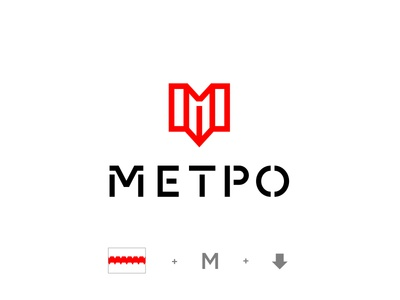 Logo concept for Omsk Subway