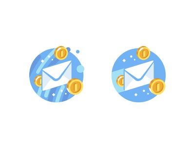 Money Message flat money vkontakte vk illustration stolz