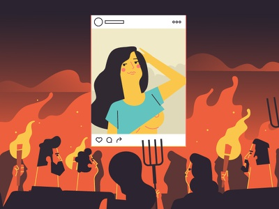 Haters haters character instagram girl trickpics pornhub hell illustration stolz