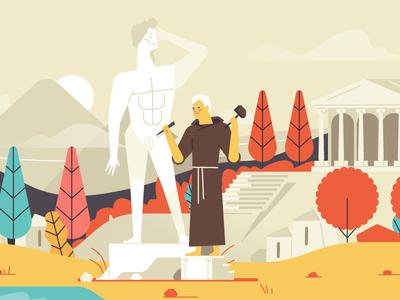 Monk censor censorship censor silas haters character david monk trickpics pornhub greece illustration stolz