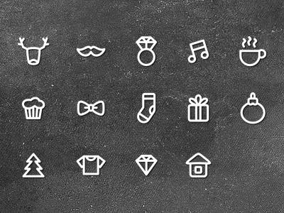 Sunday Market - Free Icons icon icons free psd download sweet minimal freebie