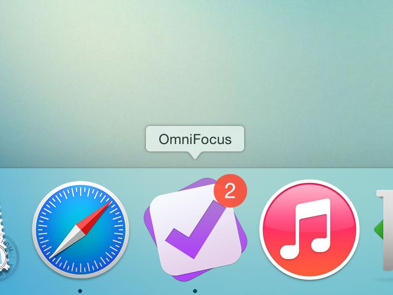OmniFocus 2 Yosemite Icon yosemite todo osx mac icon app