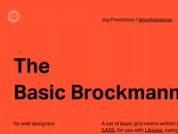 The Basic Brockmann