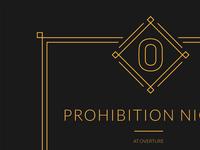Prohibition Night HTML Email Invite