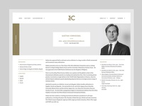 Lawyer Website Person Page