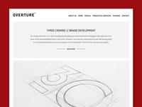 Studio work page website portfolio design studio