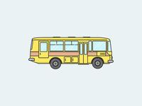 PAZ bus