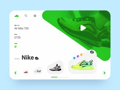 Sneaker Shop shoes nike ux ui web shop sneaker