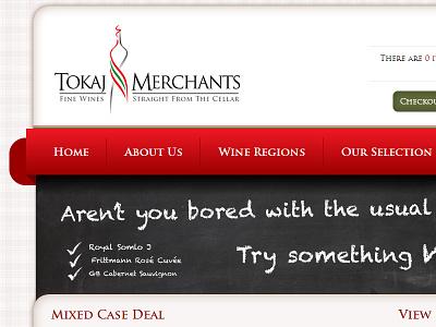 Tokaj Merchants - Brand identity, webdesign & development webdesign web development winery logotype