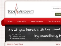 Tokaj Merchants - Brand identity, webdesign & development
