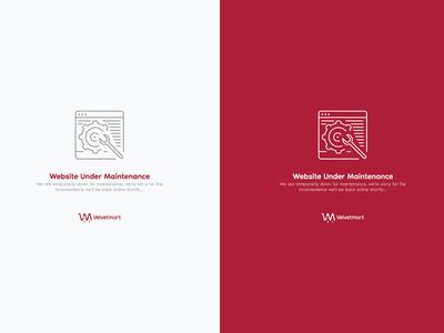 Velvetmart Under Maintenance Page